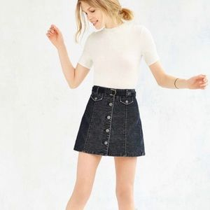 Urban Outfitters BDG Corduroy Button Skirt